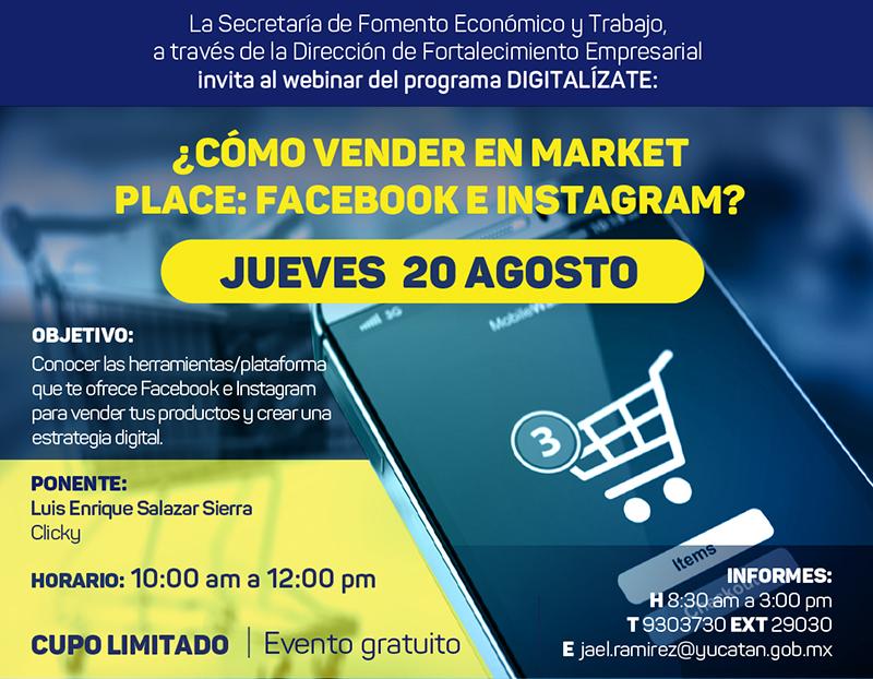 Tema 5: ¿Cómo vender en Market Place: Facebook e Instagram?