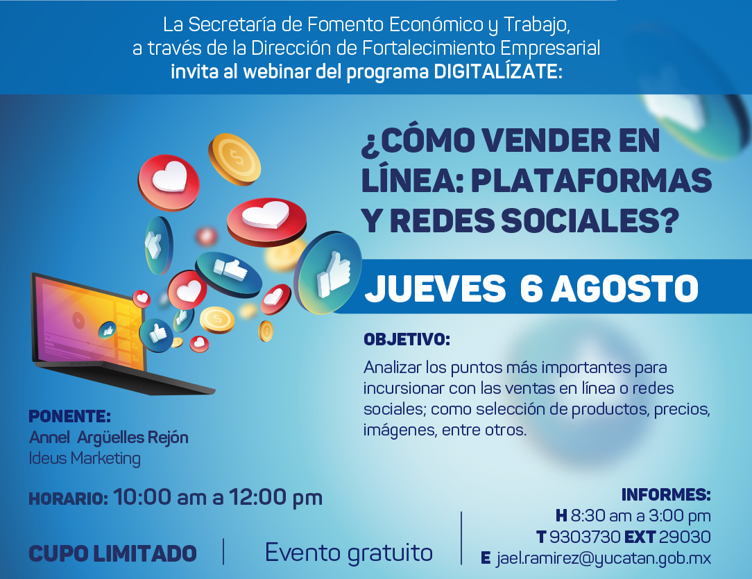 Tema 3: ¿Cómo vender en línea: plataformas y redes sociales?
